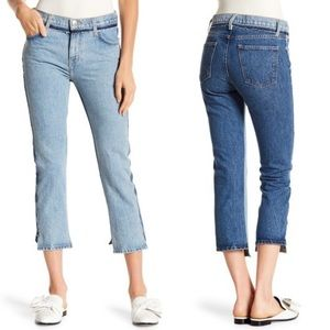 Current/ Elliott High Waist Somera Straight Jeans